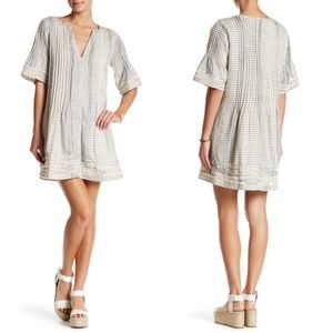Tularosa Revolve Ash Button-down Knit Mini Dress S